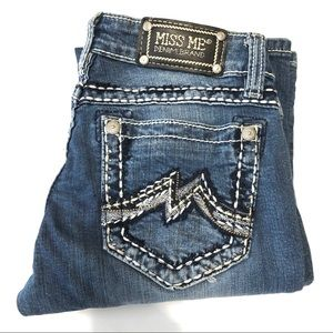 Miss Me Boot Jeans Size 26 EUC